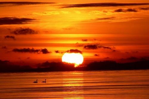 FI Sonnenuntergang